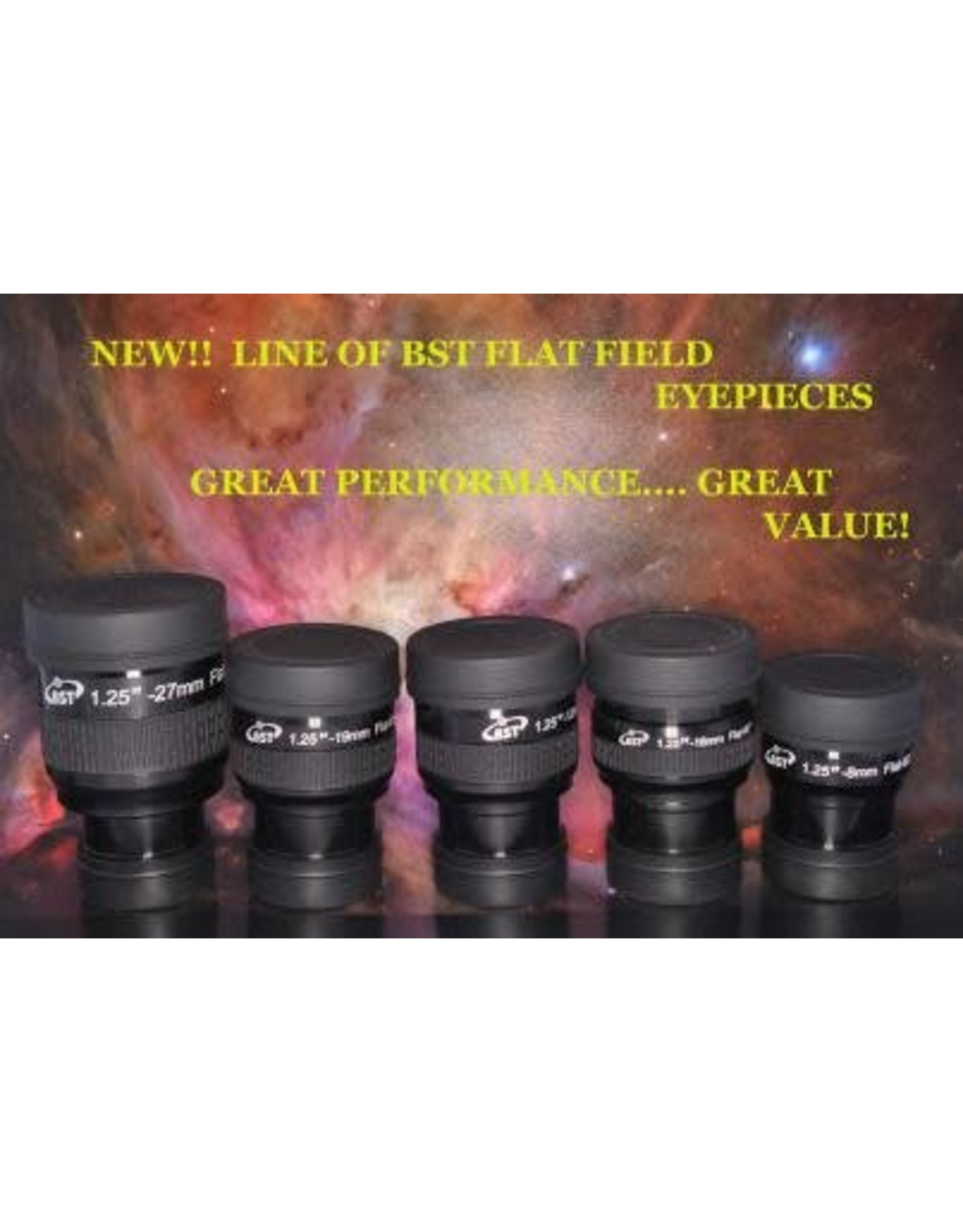 BST 12mm Edge On FLAT FIELD Eyepiece