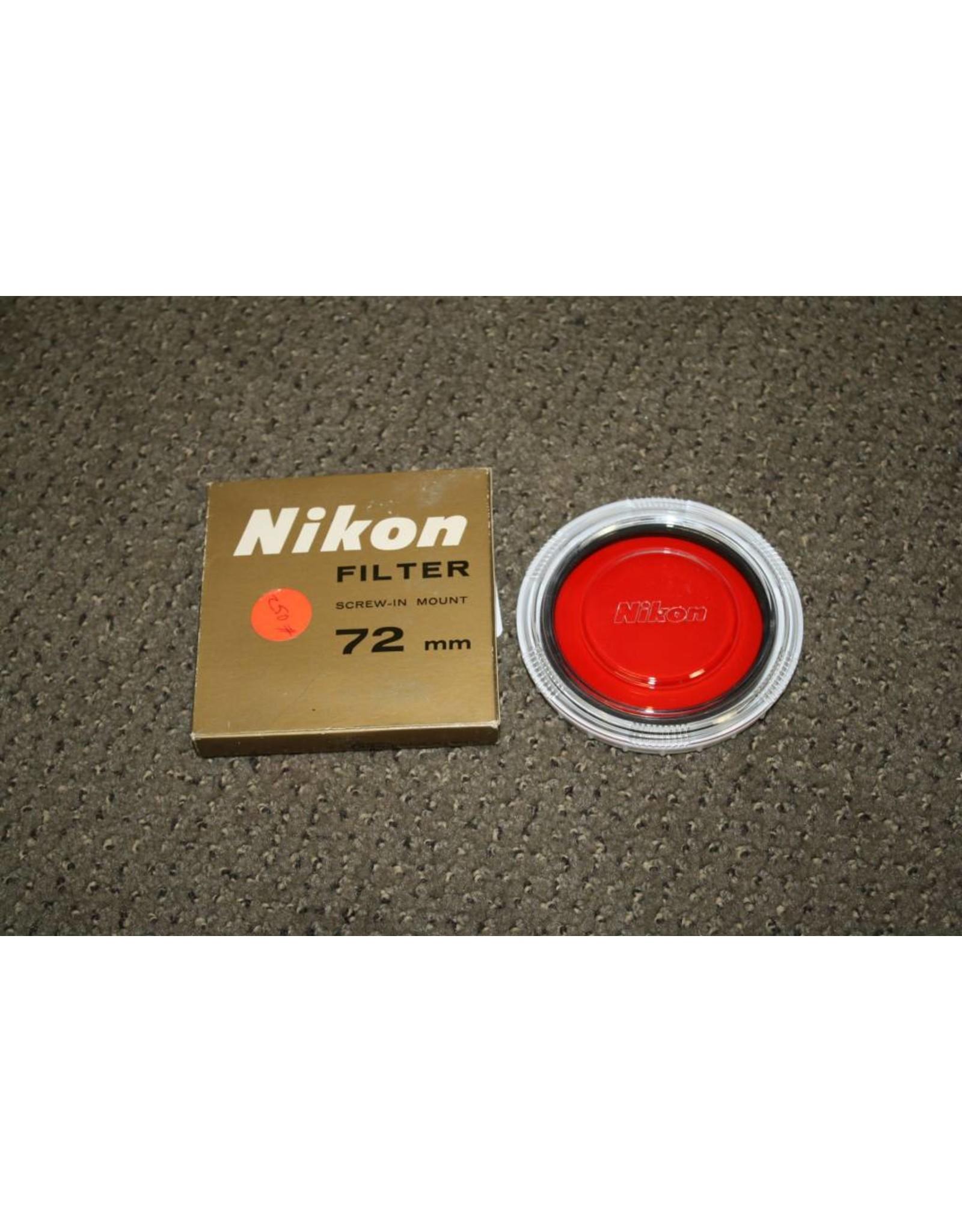 Nikon R60 (2273) 72 mm Filter in original box