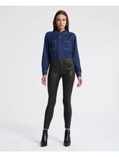 AG Farrah Ankle Skinny Leatherette
