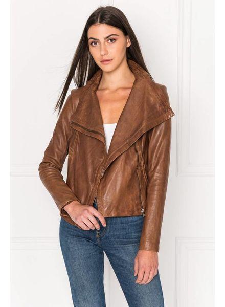 La Marque Talia Leather Coat