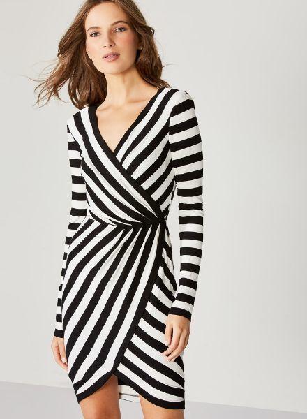 Bailey 44 Disco Inferno Stripe Dress