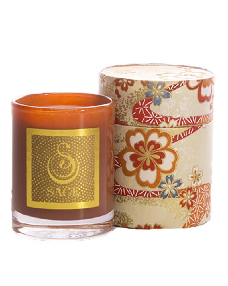 Sage Amber Candle