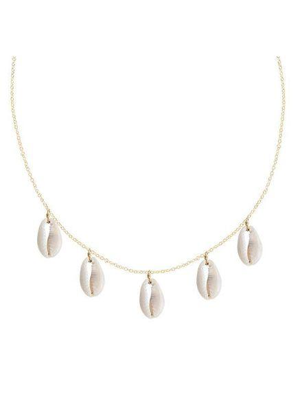 Shashi Caroline Charm Necklace