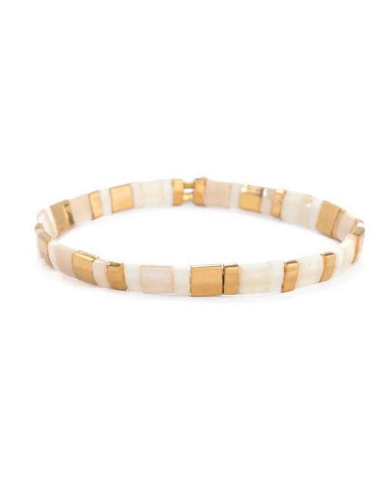 Shashi Inc. Tilu Bracelet Vanilla