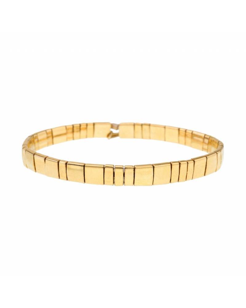 Shashi Inc. Tilu Bracelet Fortnox Yellow-Gold