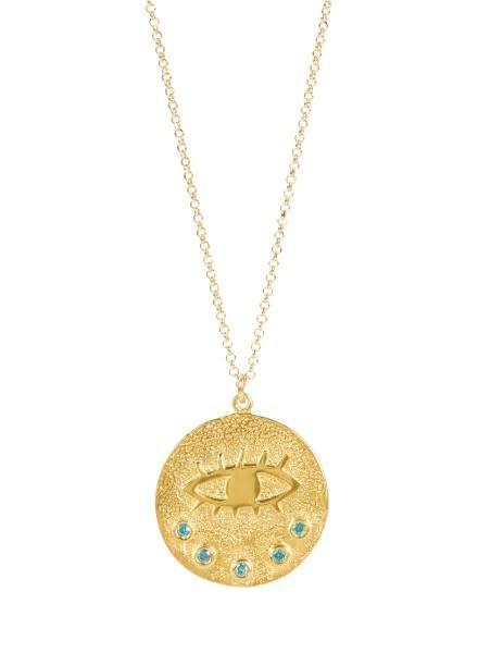 Hermina Wristwear Kressida Small Pendant Turquoise