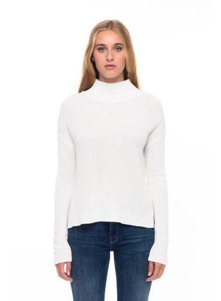 Line Andrea Mock-Neck Cotton Modal