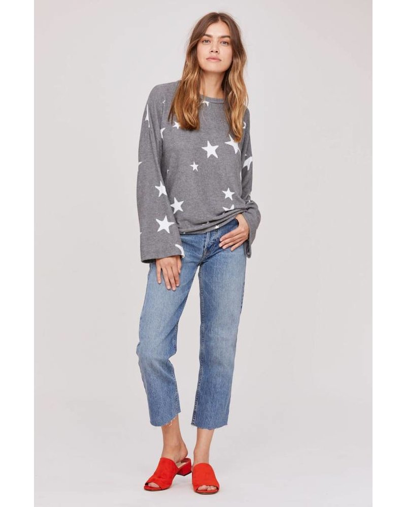 LNA Brushed Star Janis Pullover