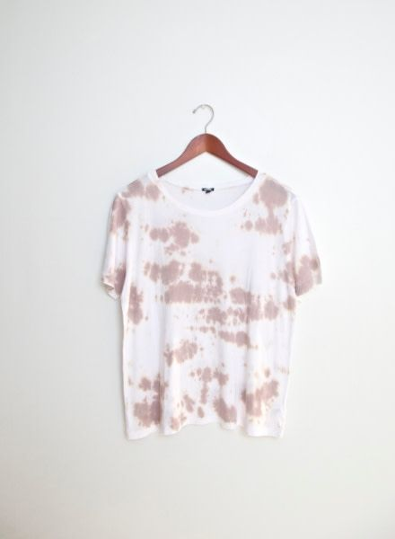 Monrow Oversized Crew with Cloud Tie Dye