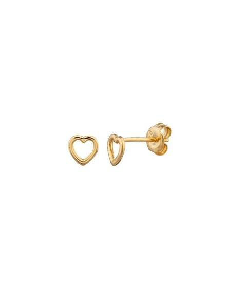 Shashi Tiny Heart Stud