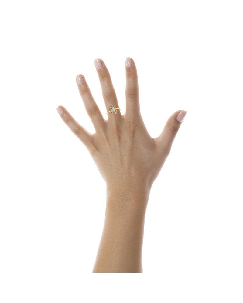Shashi Nora Pave Ring