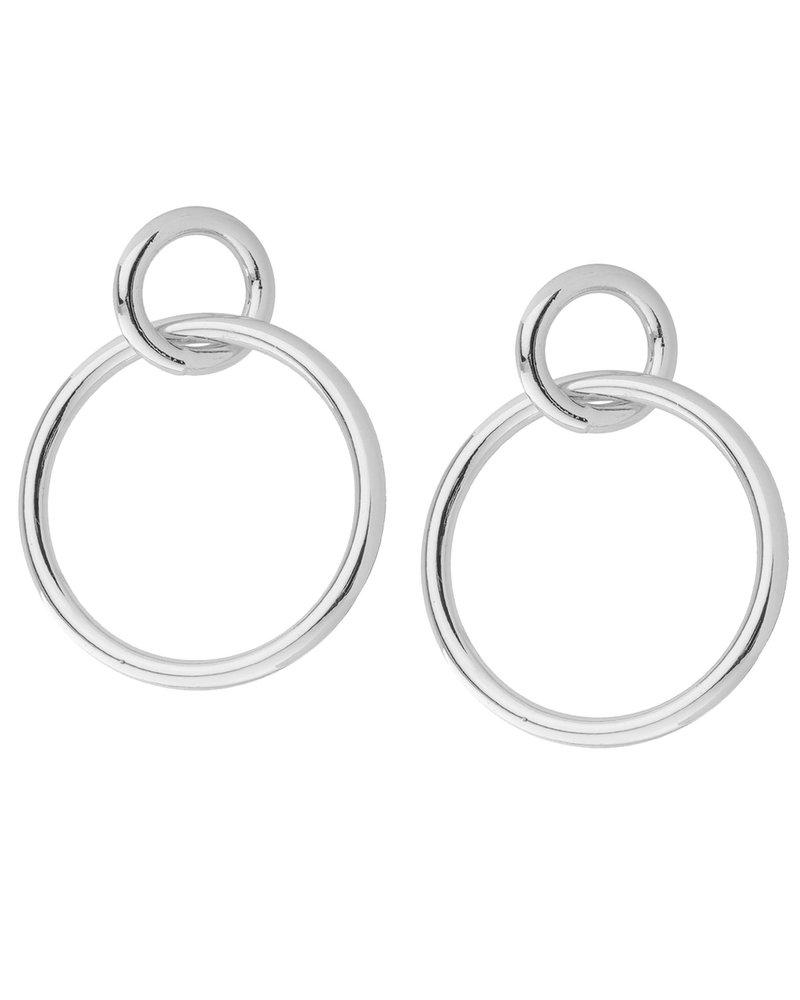 Shashi Double Circle Hoop