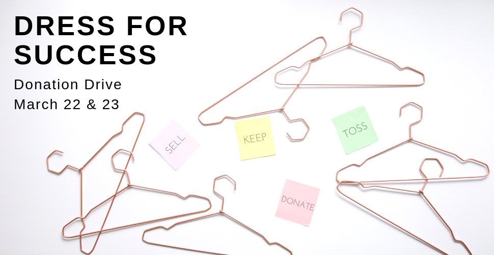 Dress For Success Donation Drive