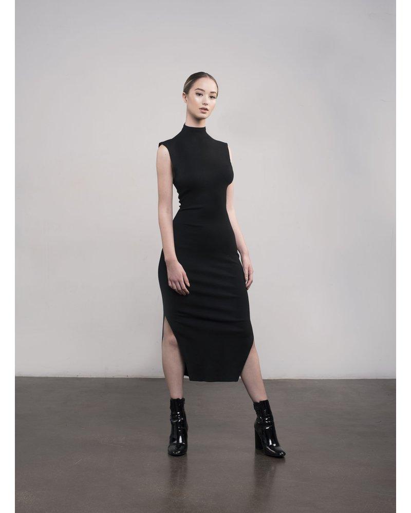 Amanda Maria Bamboo Body-Con Dress