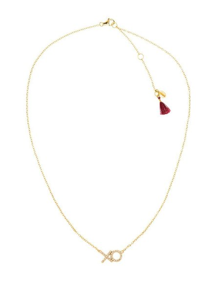 Shashi XO Pave Necklace