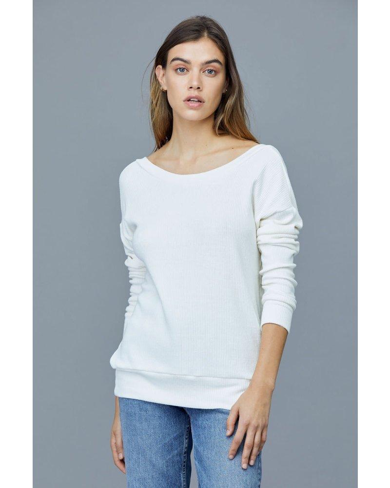 LNA Darien Slub Sweater