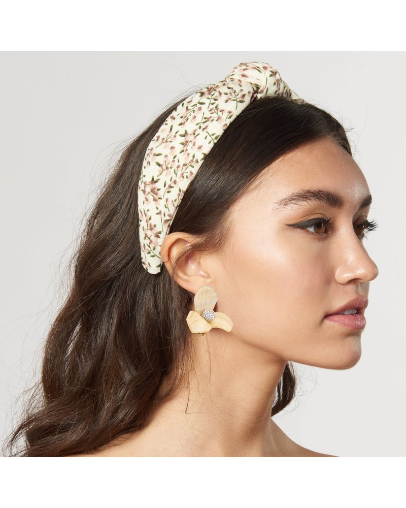 Lele Sadoughi Woven Knotted Headband