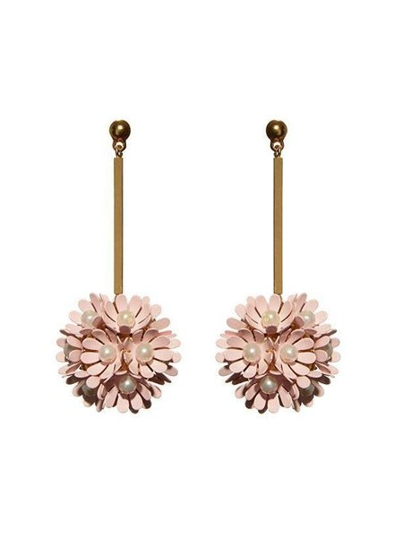 Lele Sadoughi Plumeria Earrings