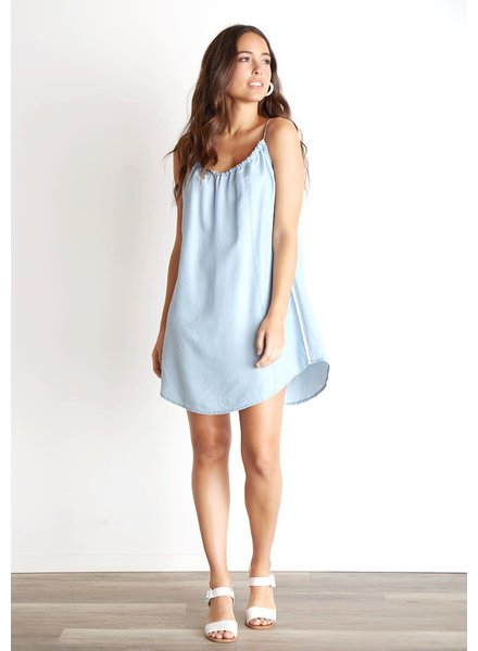 Bella Dahl Seamed Front Flowy Dress