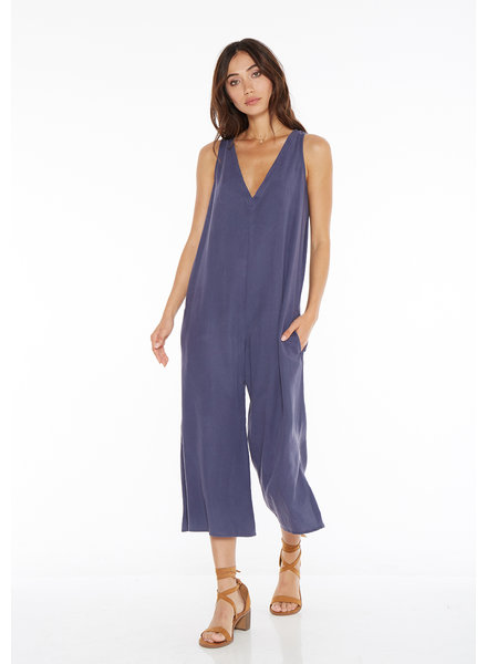 Bella Dahl V-Neck Crop Jumpsuit