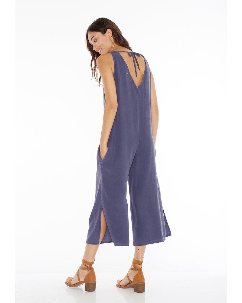 Bella Dahl V-Neck Crop Jumpsuit