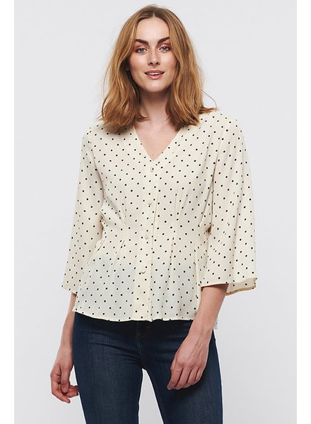 Part Two Paulina Polka Dot Blouse