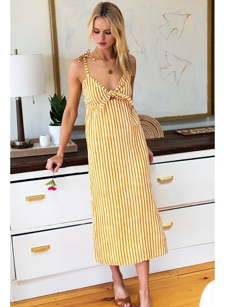 Emerson Fry Tie Bust Dress