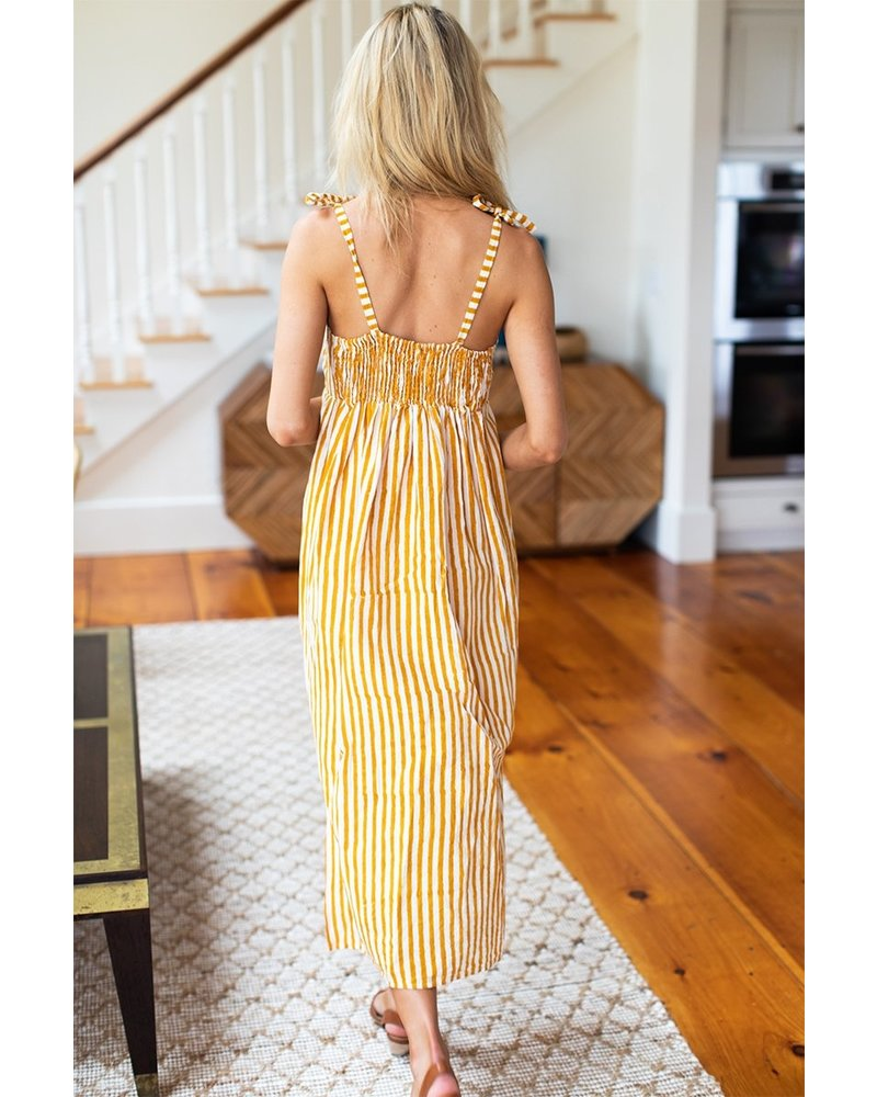 Emerson Fry Tie Bust Dress