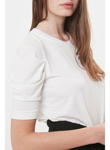 31335dc0b10f6b InWear Perla Pleat Sleeve Top