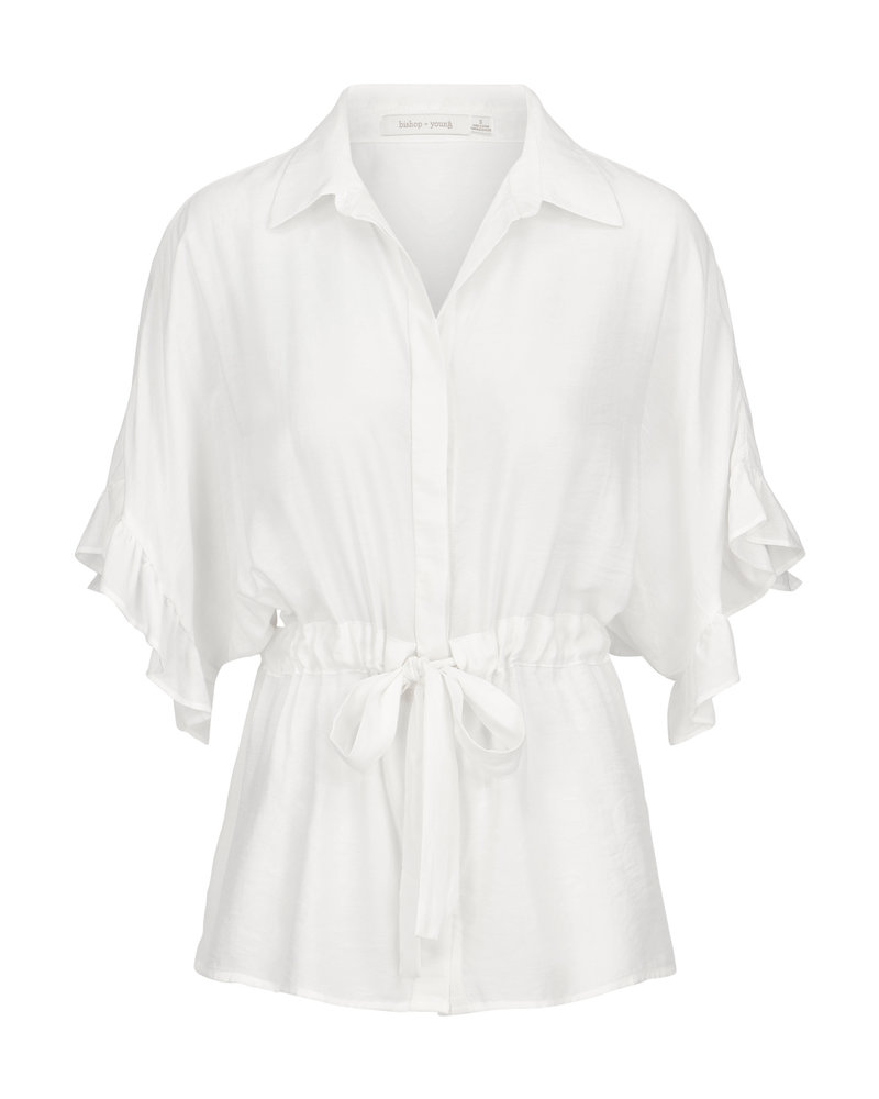Bishop & Young Ruffle Sleeve Blouse