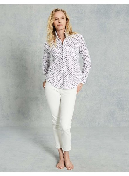 Frank & Eileen Barry Button Down Mini Pineapples