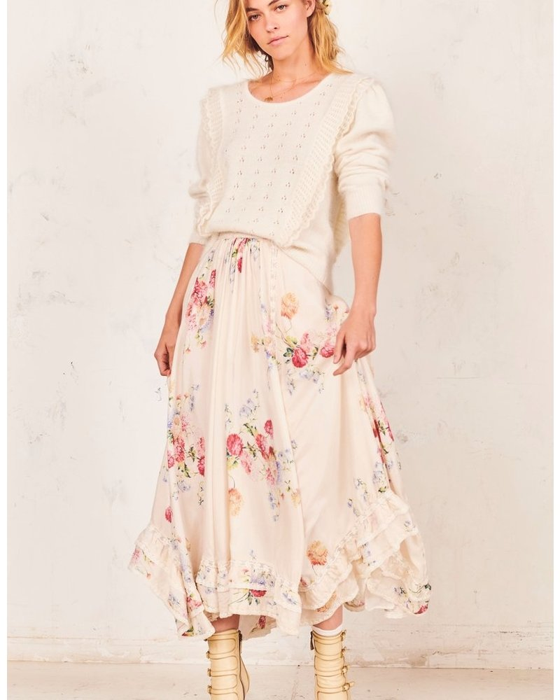 Love Shack Fancy Navya Skirt
