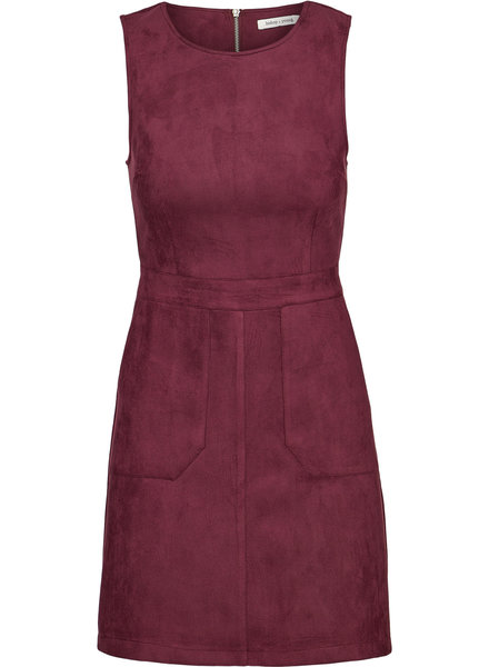 Bishop & Young Gemma Faux Suede Dress