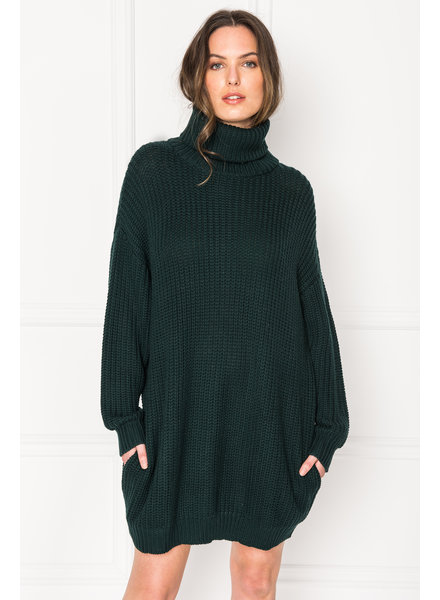 La Marque Fate Turtleneck Sweater Dress