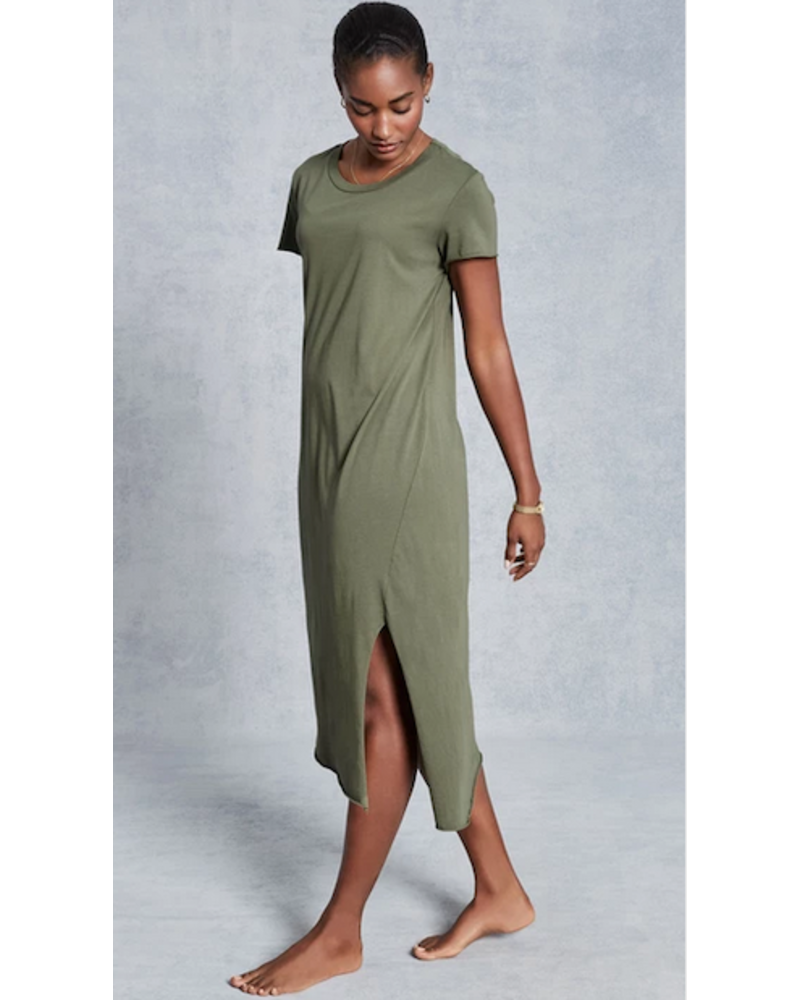 Frank & Eileen Asymmetric Tee Dress