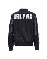 Hilary Macmillan GRL PWR Varsity Jacket