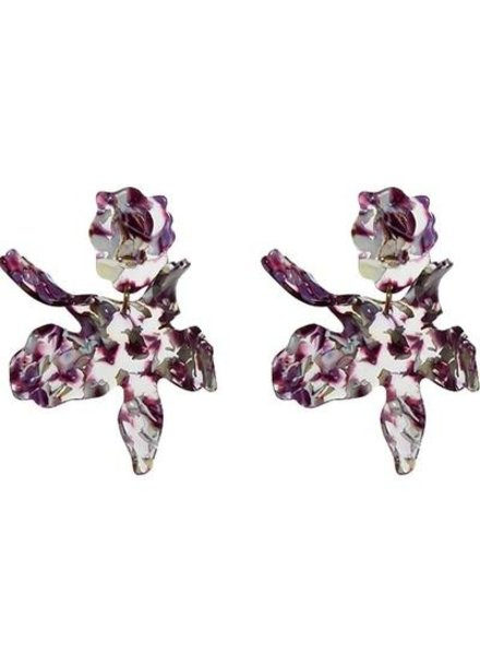 Lele Sadoughi Paper Lily Earrings