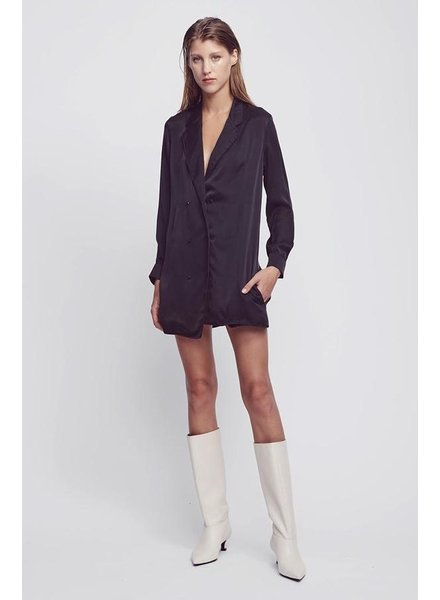 Silk Laundry Relaxed Blazer