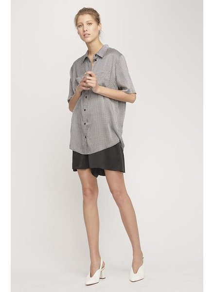 Silk Laundry Boyfriend Shirt