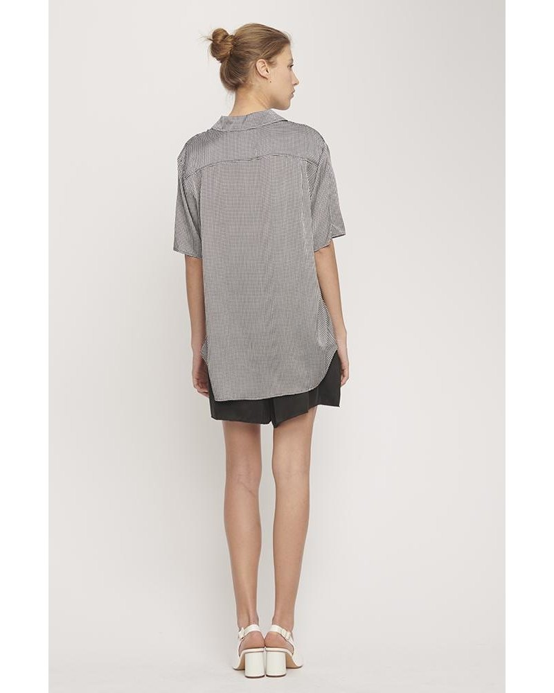 Silk Laundry Boyfriend Shirt