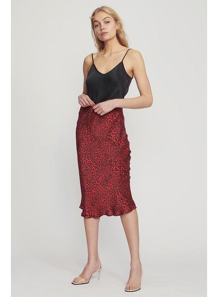 Silk Laundry Bias Cut Skirt