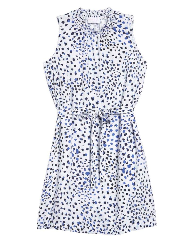 Bella Dahl Smocked Neck Dress