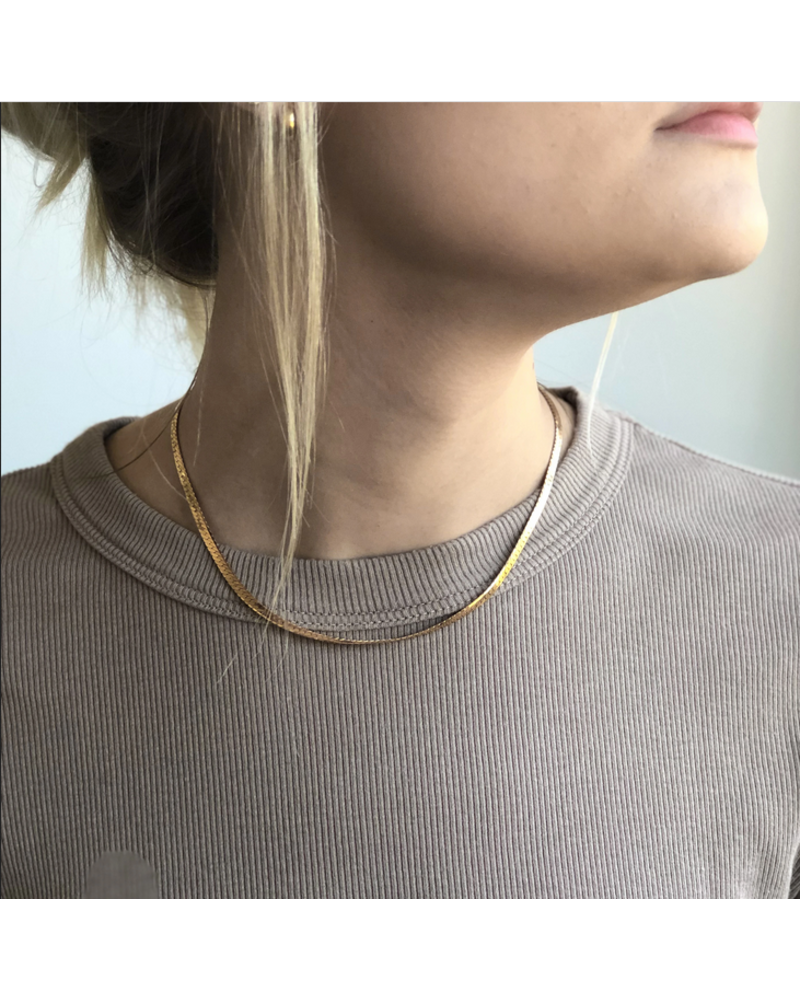 Thatch Dani Herringbone Necklace