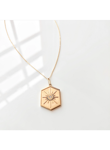Thatch Guiding Star Necklace Gold