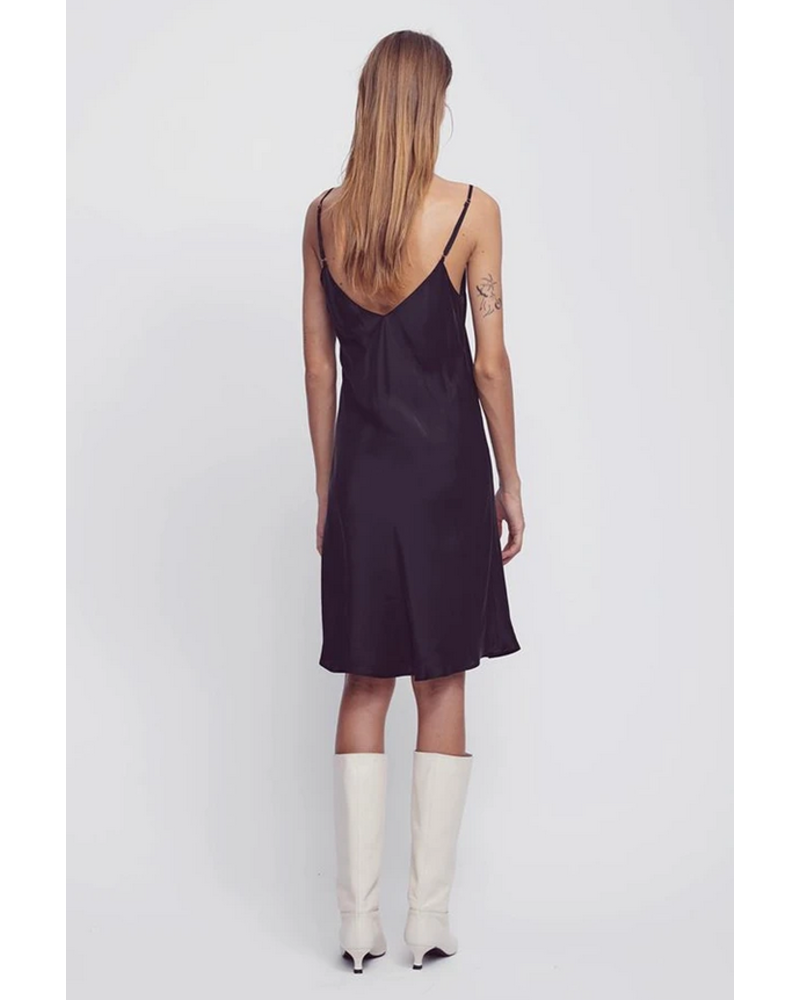 Silk Laundry 90's Silk Slip Dress
