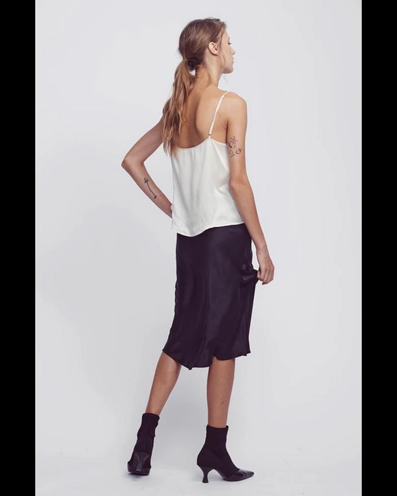 Silk Laundry Bias Cut Skirt