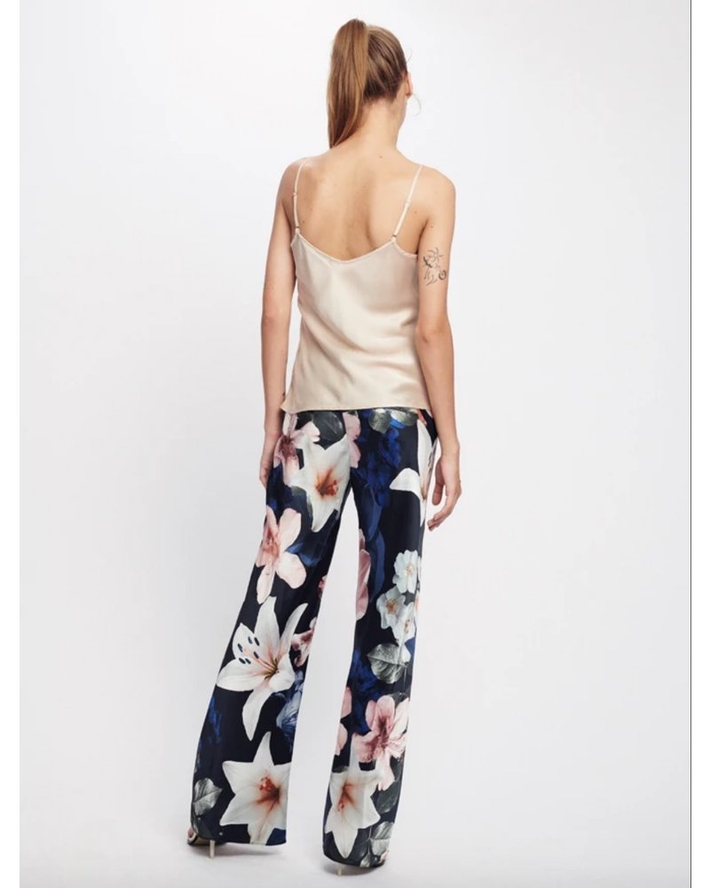 Silk Laundry Bias Cut Pant