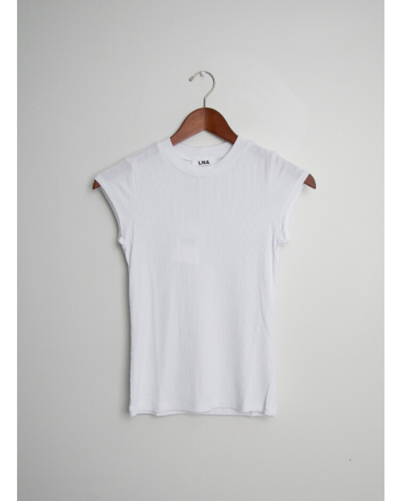 LNA Ribbed Barrie Tee