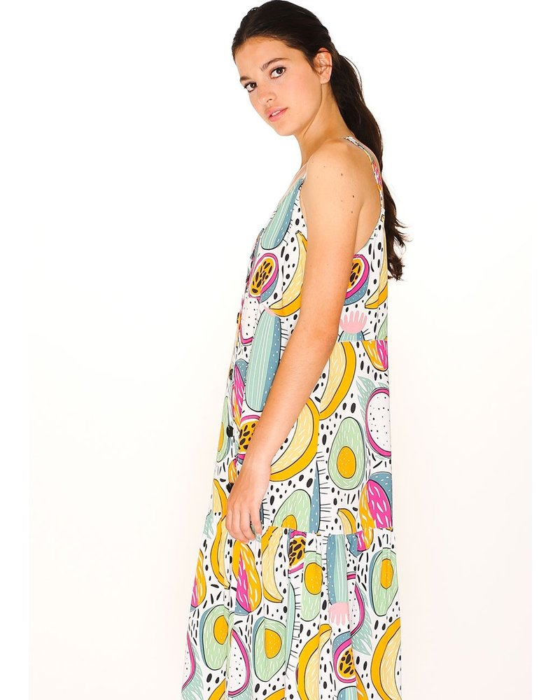 Cactus Two Fruits Frill Dress