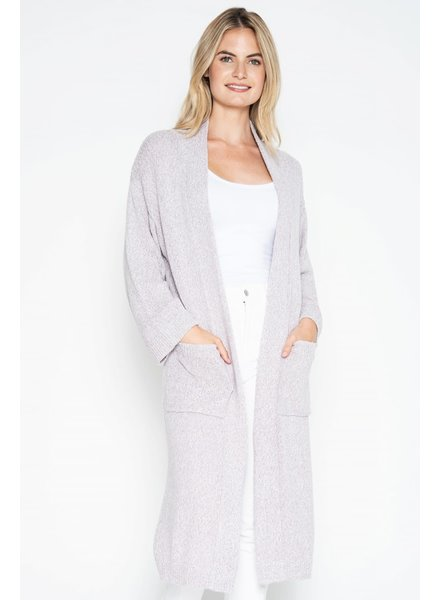 One Grey Day Henry Duster Long Cardigan